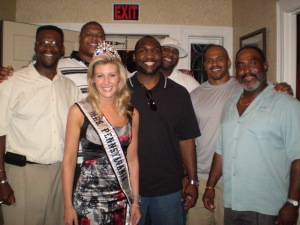 Woody Bennet, Lincoln Kennedy, Ms. Pennsylvania, A. Maurice, Troy Drayton, Reggie Givens & Eddie Martin