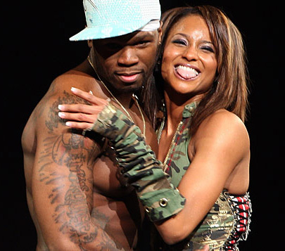 who is 50 cent dating