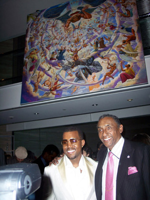 Ernie Barnes With Kayne West