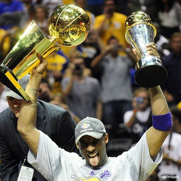 Killa Kobe Wins His 4th NBA Title, 1st Finals MVP