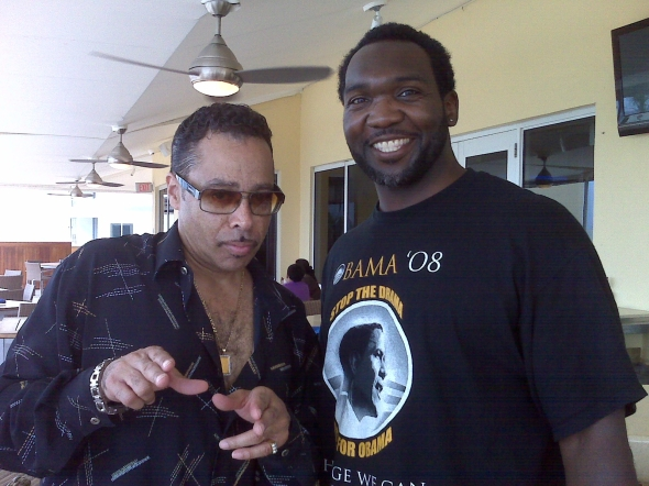 Morris Day & Urban Sports VIP Connect On SOBE