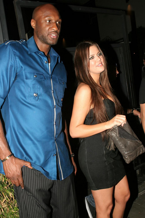 NBA Champ & LA Lakers Star Lamar Odom, Khloe Kardashian