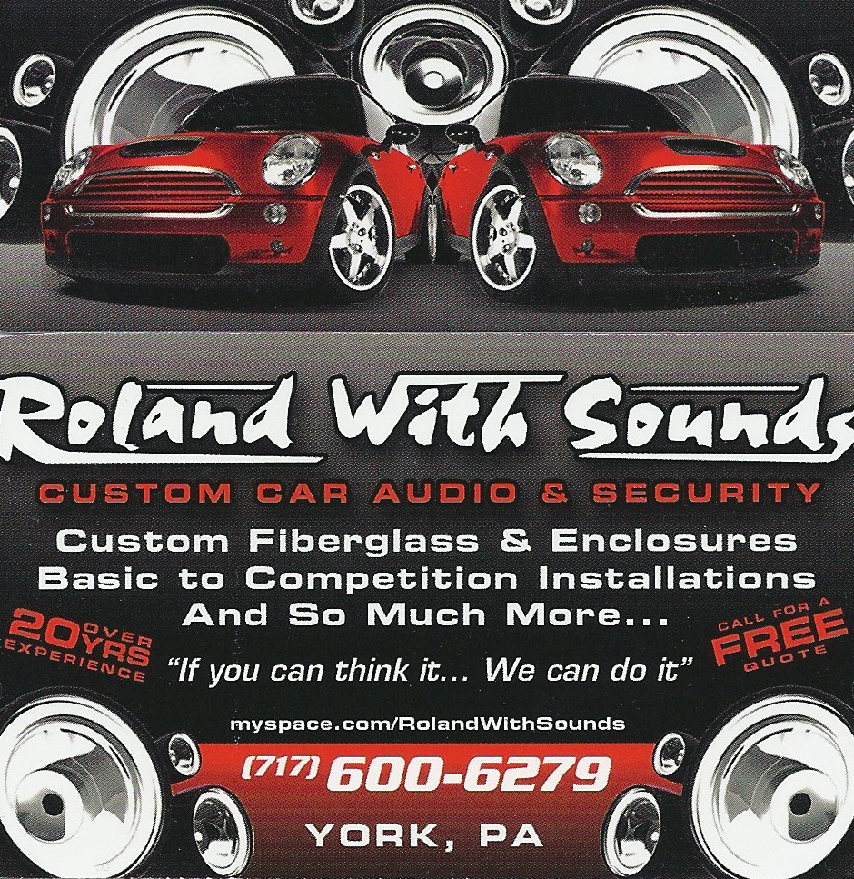 Roland With Sounds Logo